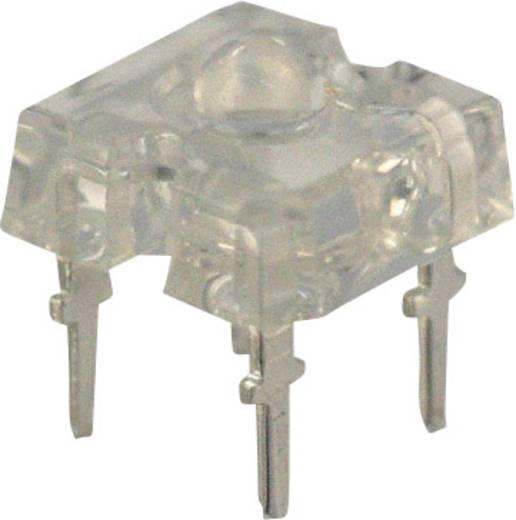 LED bedrahtet Blau Rechteckig 2.44 mm 60 ° 50 mA 3.9 V Vishay VLWB9600
