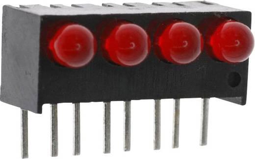LED-Reihe Rot (L x B x H) 17.27 x 10.78 x 8.89 mm Dialight 551-0407-004F