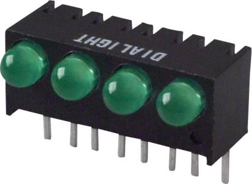 LED-Reihe Grün (L x B x H) 17.27 x 10.78 x 8.89 mm Dialight 551-0607-004F