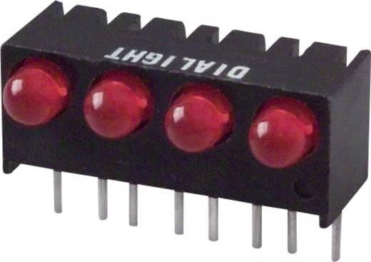 LED-Reihe Rot (L x B x H) 17.27 x 10.78 x 8.89 mm Dialight 551-1107-004F