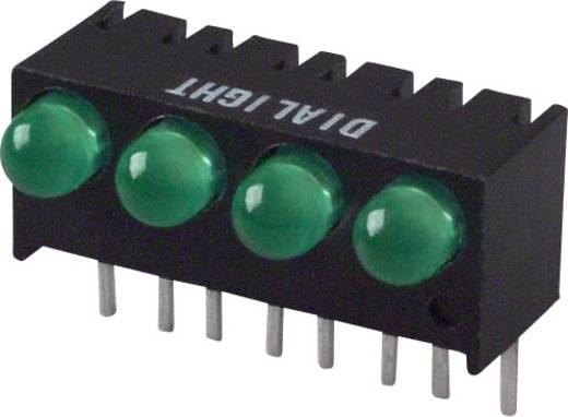 LED-Reihe Grün (L x B x H) 17.27 x 10.78 x 8.89 mm Dialight 551-1307-004F