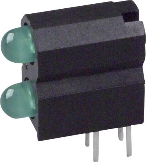 LED-Baustein Grün (L x B x H) 13.33 x 11.66 x 5.08 mm Dialight 553-0222-300F