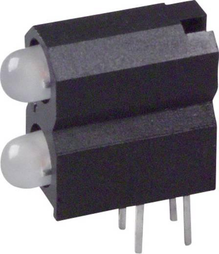 LED-Baustein Grün, Rot (L x B x H) 13.33 x 11.66 x 5.08 mm Dialight 553-0711-300F