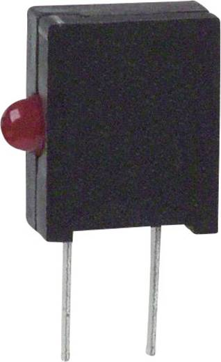 LED-Baustein Rot (L x B x H) 10.03 x 6.22 x 2.54 mm Dialight 555-2001F