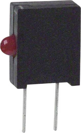 LED-Baustein Rot (L x B x H) 10.03 x 6.22 x 2.54 mm Dialight 555-2008F