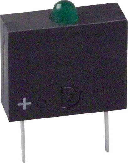 LED-Baustein Grün (L x B x H) 10.17 x 7.62 x 2.54 mm Dialight 555-3301F