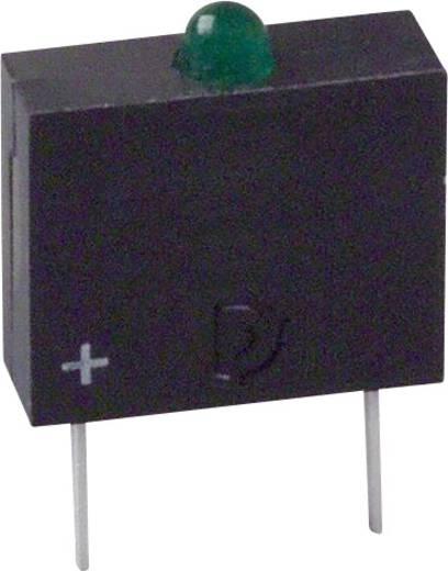 LED-Baustein Grün (L x B x H) 10.17 x 7.62 x 2.54 mm Dialight 555-3303F