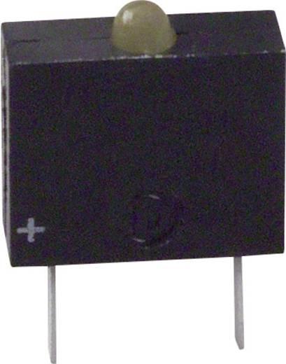 LED-Baustein Gelb (L x B x H) 10.17 x 7.62 x 2.54 mm Dialight 555-3401F