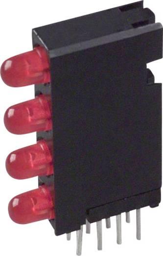 LED-Baustein Rot (L x B x H) 24 x 14.35 x 4.32 mm Dialight 568-0201-111F