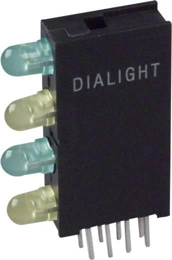 LED-Baustein Grün, Gelb (L x B x H) 24 x 14.35 x 4.32 mm Dialight 568-0202-323F