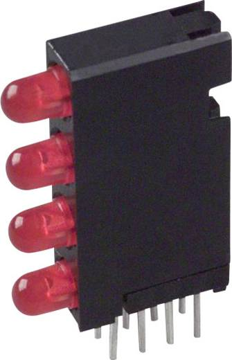 LED-Baustein Rot (L x B x H) 24 x 14.35 x 4.32 mm Dialight 568-0301-111F