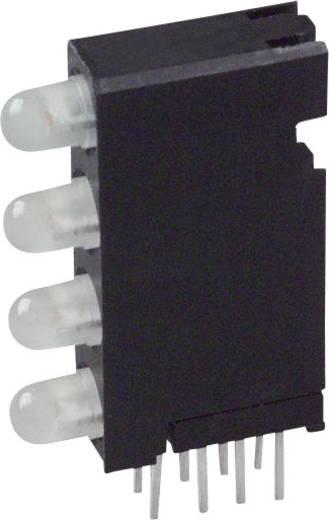 LED-Baustein Grün, Gelb (L x B x H) 24 x 14.35 x 4.32 mm Dialight 568-0704-444F