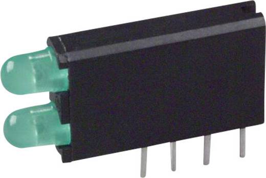 LED-Baustein Grün (L x B x H) 18.54 x 12.57 x 6.6 mm Dialight 569-0112-200F