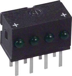 Rangée de LEDs Dialight 555-4303F vert (L x l x h) 10.29 x 10.03 x 6.22 mm 1 pc(s)