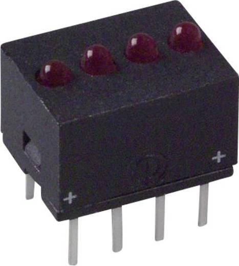 LED-Reihe Rot (L x B x H) 10.29 x 10.17 x 7.77 mm Dialight 555-5001F