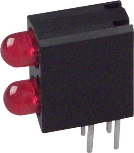 LED-Baustein Rot (L x B x H) 13.33 x 10.73 x 4.32 mm Dialight 553-0111F