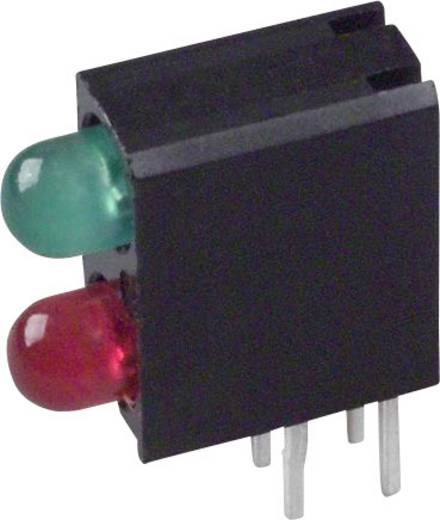 LED-Baustein Grün, Rot (L x B x H) 13.34 x 11 x 4.32 mm Dialight 553-0121F