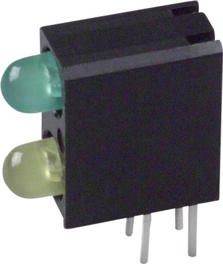 LED-Baustein Grün, Gelb (L x B x H) 13.33 x 11 x 4.32 mm Dialight 553-0123F