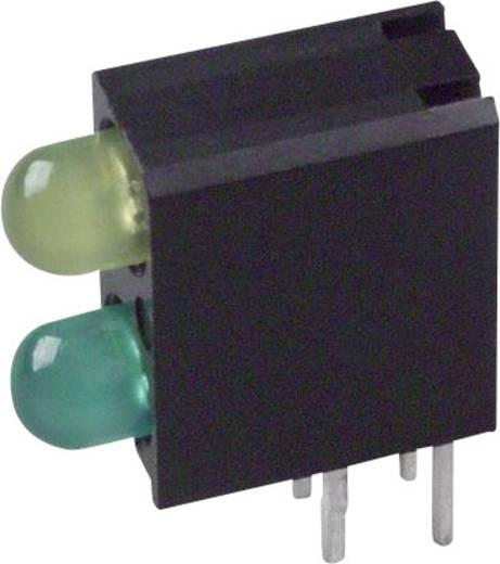 LED-Baustein Grün, Gelb (L x B x H) 13.33 x 11 x 4.32 mm Dialight 553-0132F