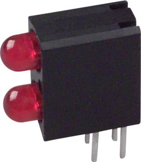 LED-Baustein Rot (L x B x H) 13.33 x 10.73 x 4.32 mm Dialight 553-0211F