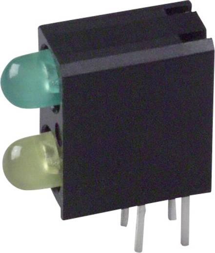 LED-Baustein Grün, Gelb (L x B x H) 13.33 x 11 x 4.32 mm Dialight 553-0223F