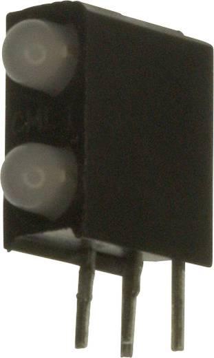 LED-Baustein Grün, Rot (L x B x H) 13.33 x 10.73 x 4.32 mm Dialight 553-0711F