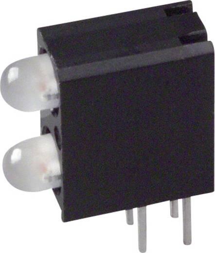 LED-Baustein Grün, Gelb (L x B x H) 13.33 x 10.73 x 4.32 mm Dialight 553-0744F