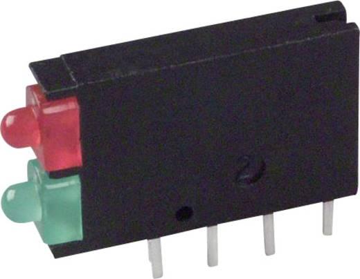 LED-Baustein Grün, Rot (L x B x H) 15.24 x 11.6 x 2.5 mm Dialight 571-0112F