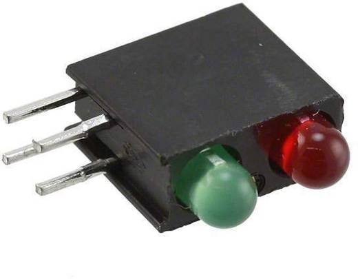 LED-Baustein Grün, Rot (L x B x H) 13.33 x 10.73 x 4.32 mm Dialight 553-0112F