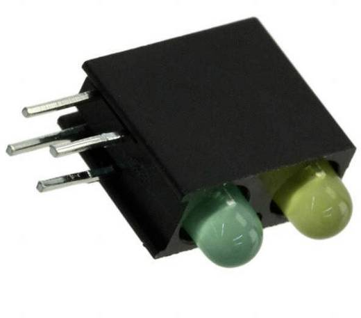 LED-Baustein Grün, Gelb (L x B x H) 13.33 x 11 x 4.32 mm Dialight 553-0232F