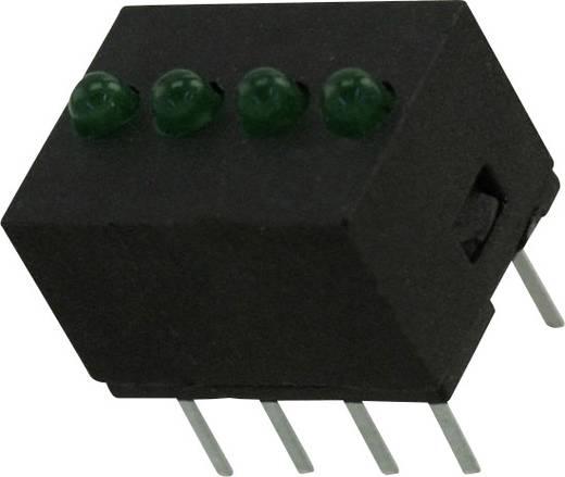 LED-Reihe Grün (L x B x H) 10.29 x 10.17 x 7.77 mm Dialight 555-5303F
