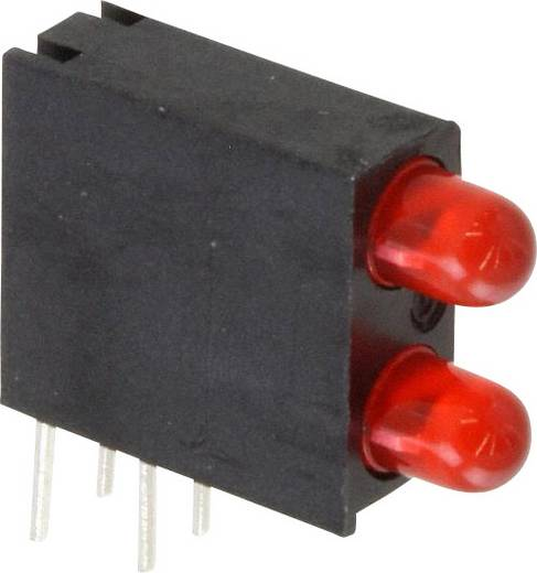 LED-Baustein Rot (L x B x H) 14.06 x 13.33 x 4.32 mm Dialight 553-0111-200F