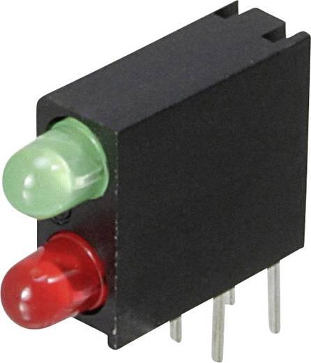 LED-Baustein Grün, Rot (L x B x H) 14.06 x 13.33 x 4.32 mm Dialight 553-0121-200F