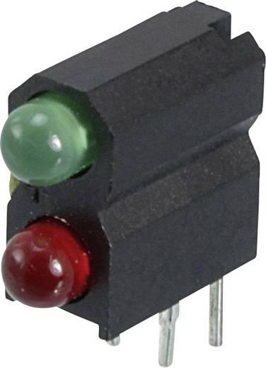 LED-Baustein Grün, Rot (L x B x H) 13.33 x 11.18 x 4.95 mm Dialight 553-0121-300F