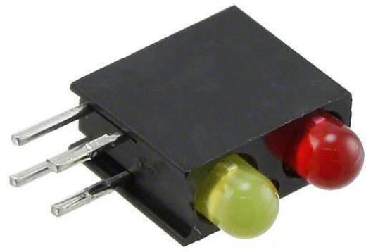 LED-Baustein Rot, Gelb (L x B x H) 13.33 x 11 x 4.32 mm Dialight 553-0213F