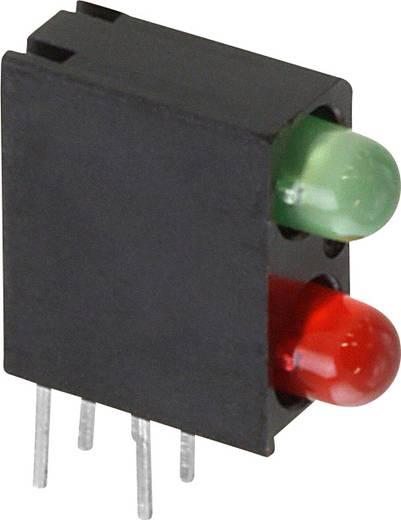 LED-Baustein Grün, Rot (L x B x H) 13.33 x 11 x 4.32 mm Dialight 553-0321F