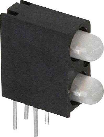 LED-Baustein Grün, Rot, Gelb (L x B x H) 13.33 x 10.75 x 4.32 mm Dialight 553-0714F
