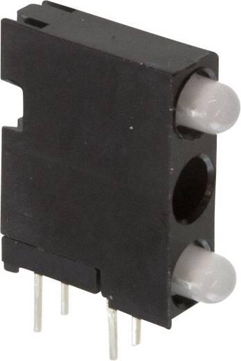 LED-Baustein Grün, Rot (L x B x H) 18.92 x 14.32 x 4.32 mm Dialight 564-0700-101F
