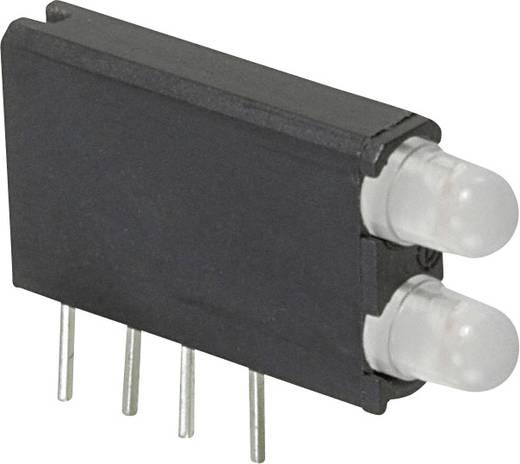 LED-Baustein Grün, Gelb (L x B x H) 18.54 x 12.57 x 3.3 mm Dialight 569-0714-400F