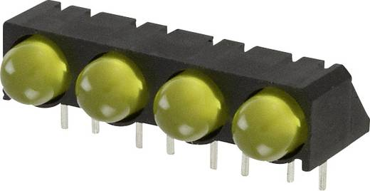 LED-Reihe Gelb (L x B x H) 25 x 12.41 x 9.6 mm Dialight 550-0307-004F