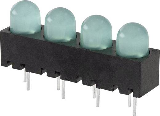 LED-Reihe Grün (L x B x H) 25 x 14.29 x 6 mm Dialight 550-1304-004F
