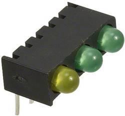 Rangée de LEDs Dialight 551-0003-828F vert, jaune (L x l x h) 13.55 x 8.76 x 8.25 mm 1 pc(s)