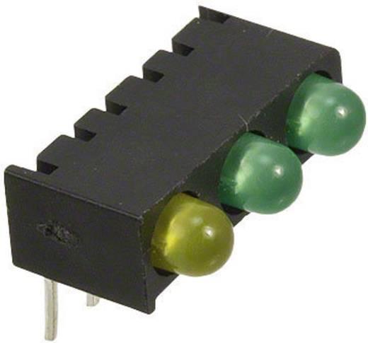 LED-Reihe Grün, Gelb (L x B x H) 13.55 x 8.76 x 8.25 mm Dialight 551-0003-828F