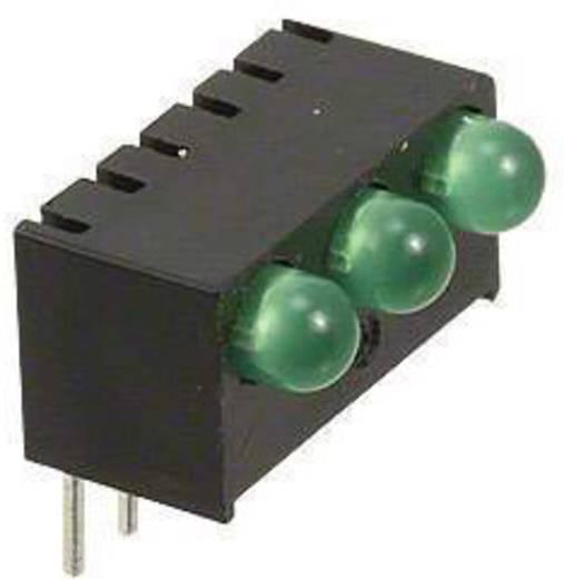 LED-Reihe Grün (L x B x H) 13.55 x 10.78 x 9.02 mm Dialight 551-0207-003F