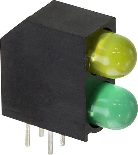 LED-Baustein Grün, Gelb (L x B x H) 16.2 x 15.49 x 5.97 mm Dialight 552-0232F