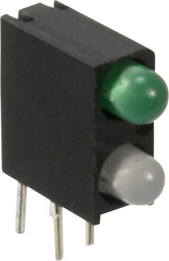 LED-Baustein Blau, Grün (L x B x H) 13.33 x 11 x 4.32 mm Dialight 553-0128F