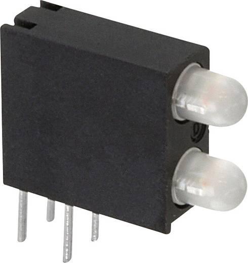 LED-Baustein Grün, Gelb (L x B x H) 14.06 x 13.33 x 4.32 mm Dialight 553-0744-200F