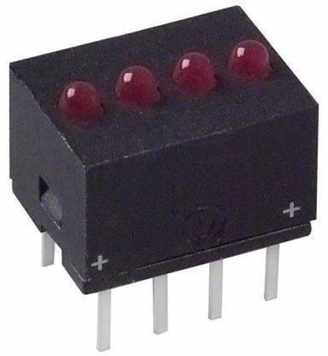 LED-Reihe Rot (L x B x H) 10.29 x 10.17 x 7.77 mm Dialight 555-5009F
