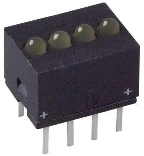 LED-Reihe Gelb (L x B x H) 10.29 x 10.17 x 7.77 mm Dialight 555-5403F