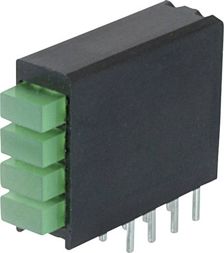 LED-Baustein Grün (L x B x H) 18.44 x 15.75 x 5.08 mm Dialight 568-0122-222F